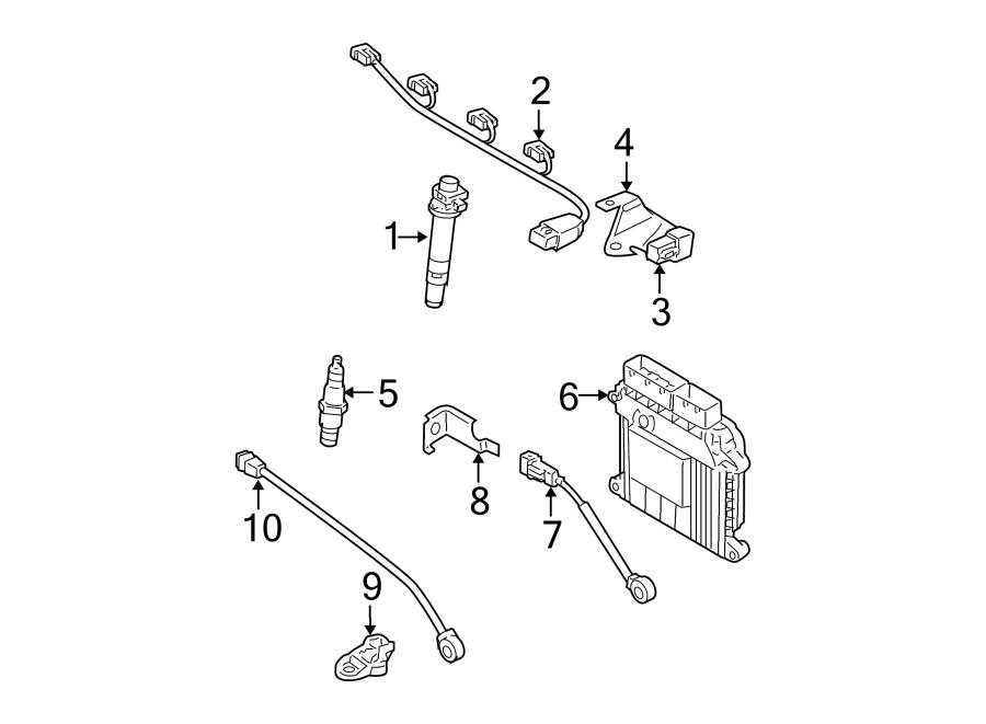 2010 Hyundai Accent Ecm. Electronic control unit. Manual