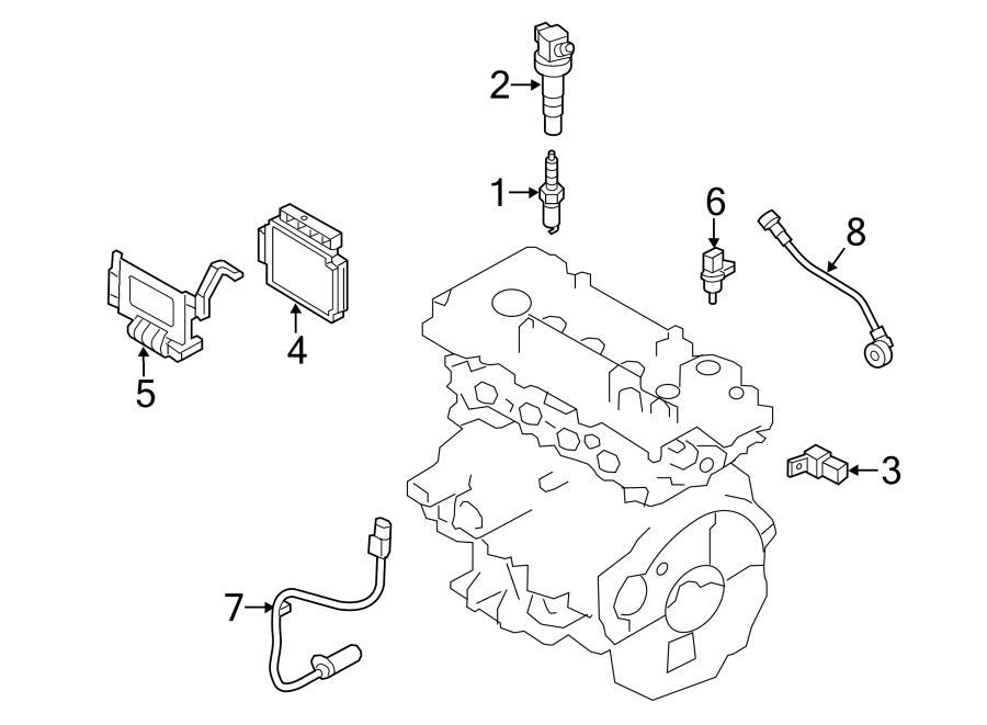2014 Hyundai Elantra GT Base Hatchback 2.0L A/T Ignition