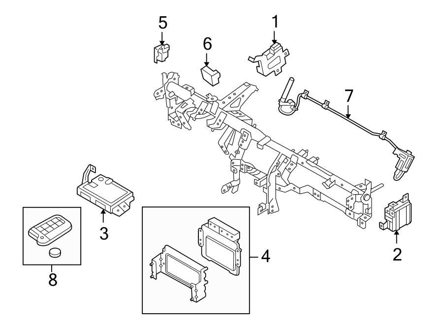 2013 Hyundai Genesis Coupe Module. Transmission control