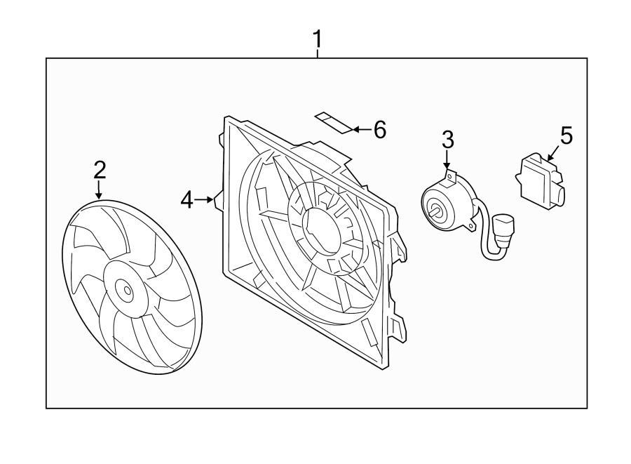 2014 Hyundai VELOSTER Control module. Engine Cooling Fan
