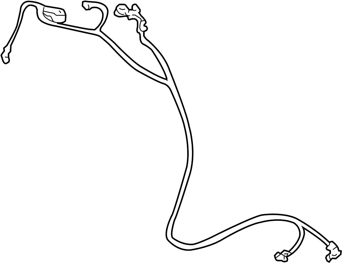 2004 Hyundai Sonata Battery Cable Harness. 2.4 liter