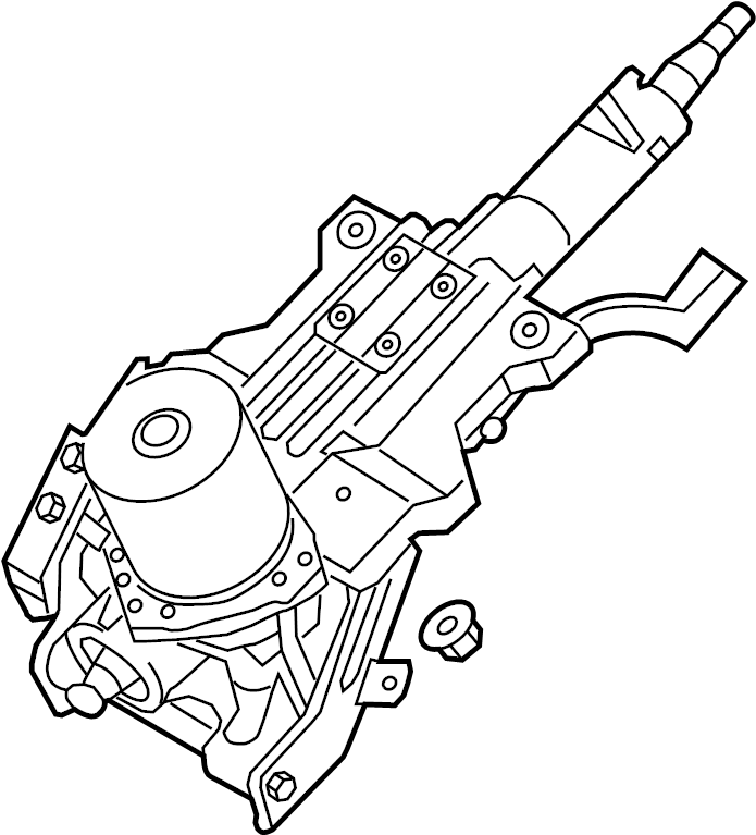 2011 Hyundai Sonata Steering Shaft Diagram