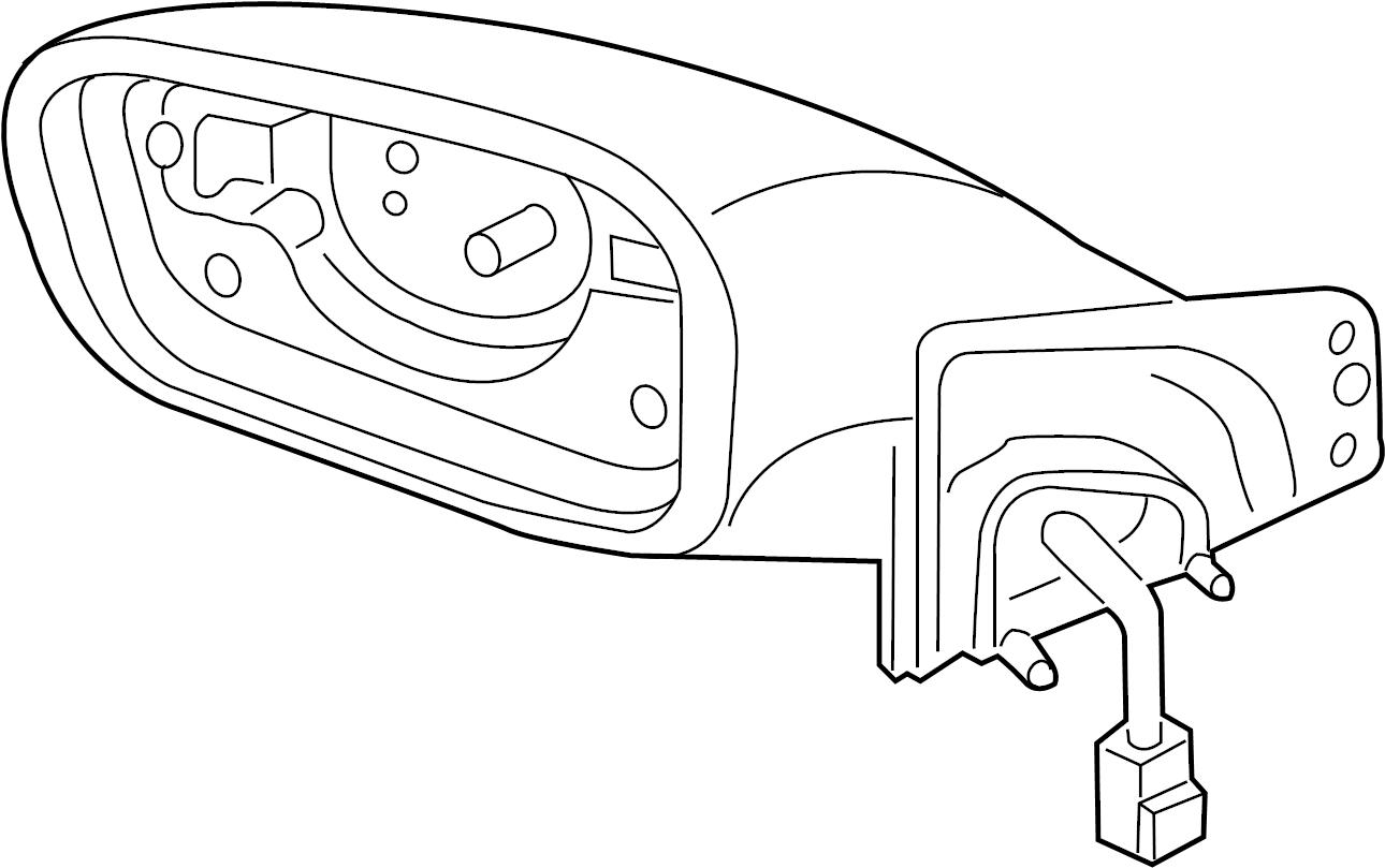Hyundai Sonata Door Mirror Wblind Radar
