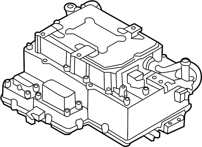 Hyundai Sonata Control unit. Hpcu reservoir module
