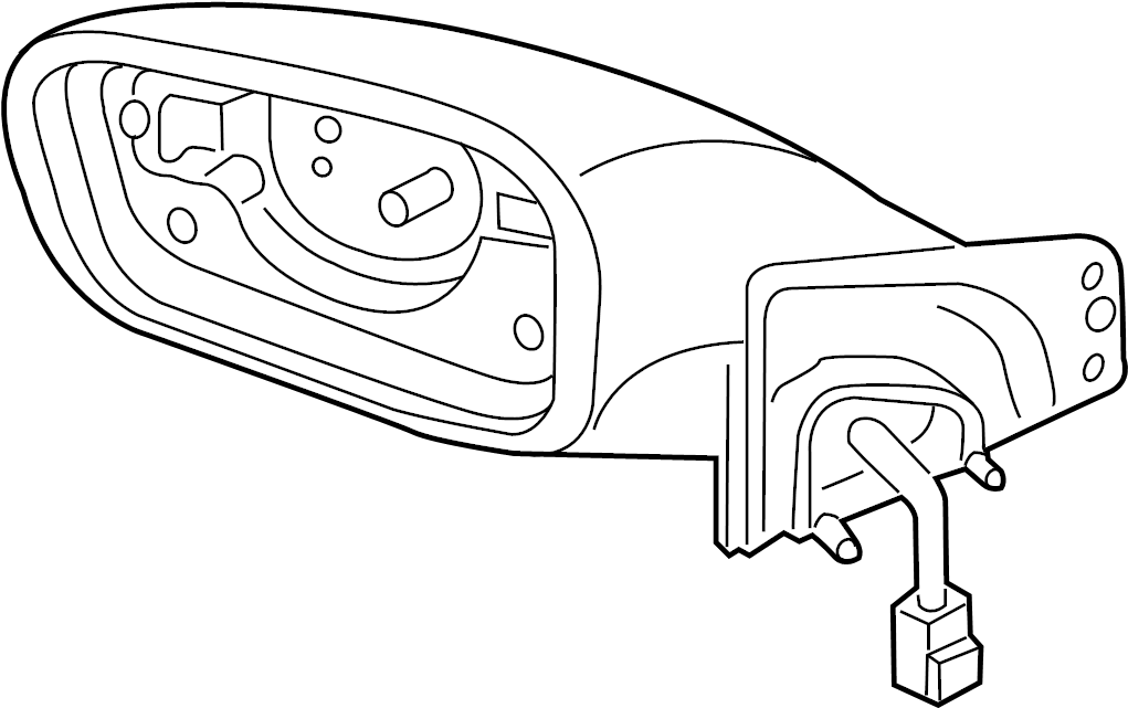 Hyundai Sonata Door Mirror. Rightwbright, REPEATER, BRIGHT