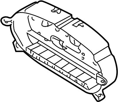 W124 Fuse Diagram