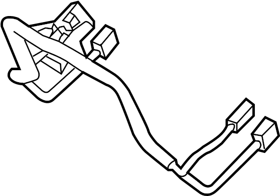 Hyundai Elantra Steering Wheel Wiring Harness. US BUILT, w