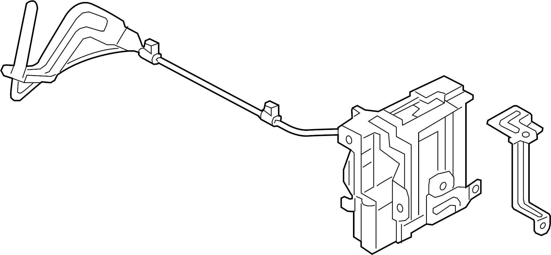 Hyundai Elantra GT Control module. Keyless Entry Module