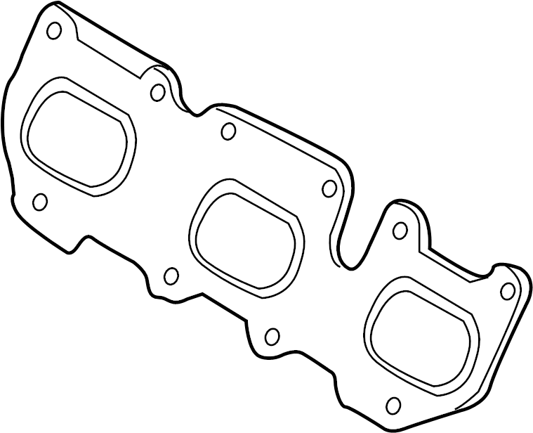 Hyundai Genesis Coupe Gasket. Manifold. Exhaust. W