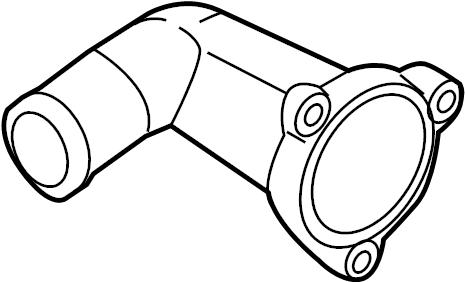 2013 Hyundai Genesis Coupe Engine Coolant Thermostat