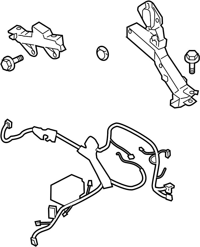 2013 Hyundai Genesis Coupe Engine harness. Engine Wiring
