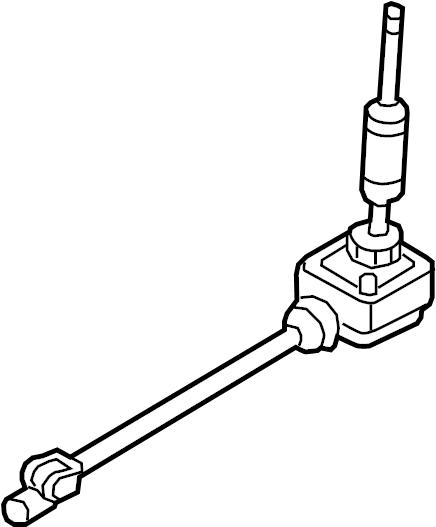2016 Hyundai Genesis Coupe Manual Transmission Shift Lever