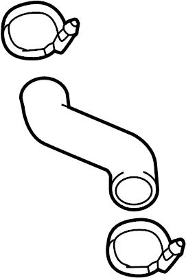 Hyundai VELOSTER Hose. Pipe. INLET. Intercooler