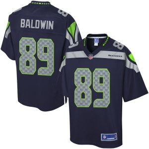 Pro Line Men's Seattle Seahawks Doug Baldwin Team  cheap Johnson jersey