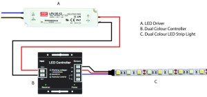 5 Easy Steps To Wiring Dual Colour LED Strip Lights