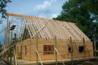 What Roof System Should You Choose for Your Log Home