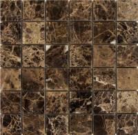 Dark Emperador Marble Tile | Tile Design Ideas