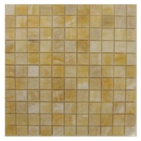 Honey Onyx Marble Tile 11 Polished