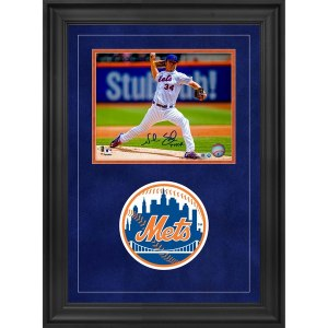 Autographed New York Mets Noah Syndergaard Fanatics Authentic Deluxe Framed 8