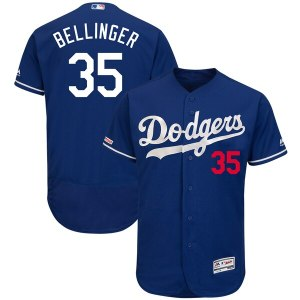 Men's Los Angeles Dodgers Cody Bellinger Majestic Royal Fashion Authentic Collection Flex Base Player Jersey