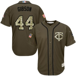 Twins #44 Kyle Gibson Green Salute to Service Stit cheap authentic stitched jerseys