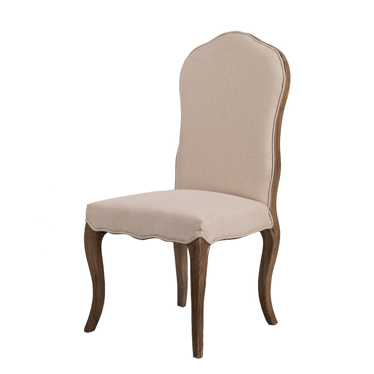 French Provincial Furniture Dining Chair in Natural Oak