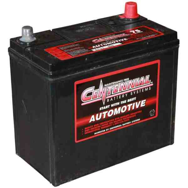 Centennial Batteries Sealed Battery 12v Group 26 Cen-26-75 - Solar