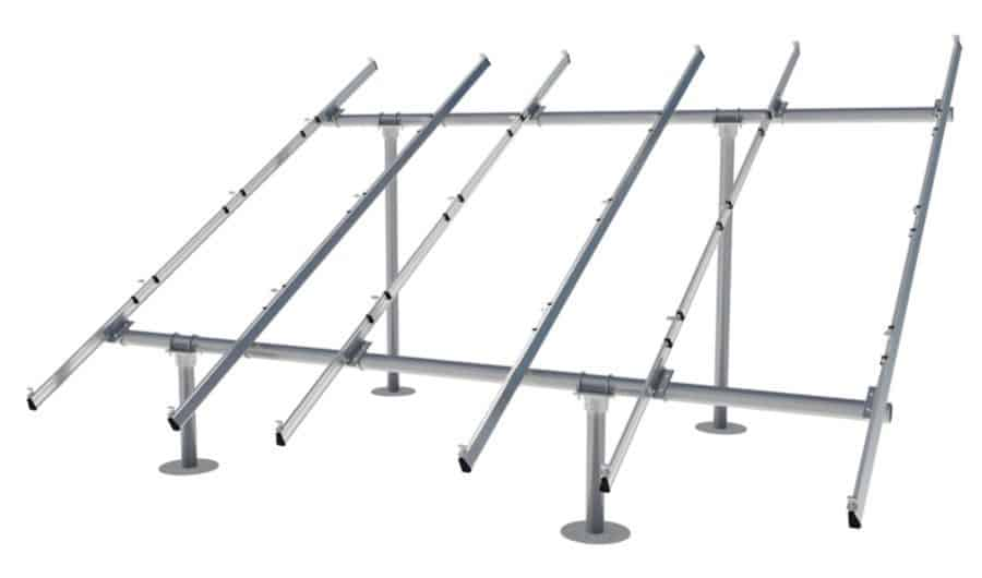 IronRidge System Upgrade Ground Mount Racking for 3