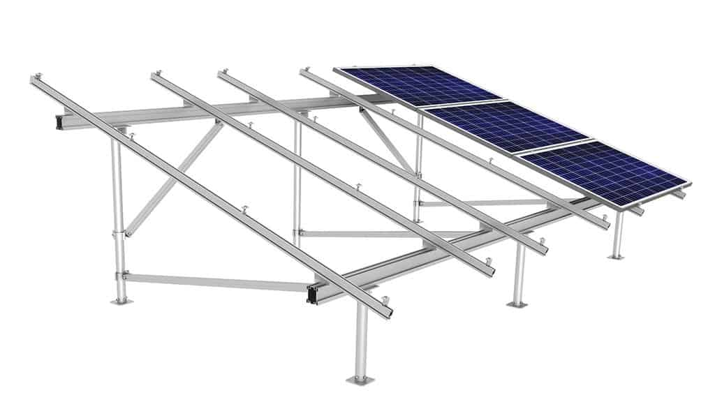 solar panel array wiring diagram audi a2 radio racking for roof and ground mount sunmodo ez sunbeam system
