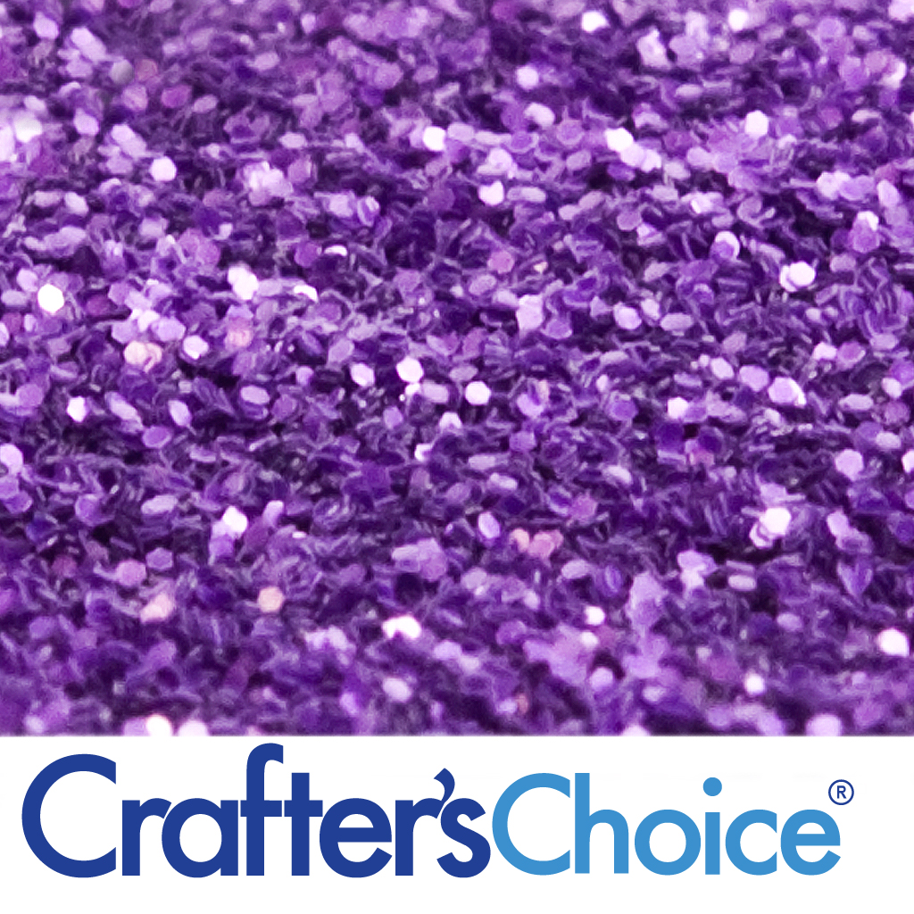 Crafters Choice Lilac Purple Glitter  Wholesale Supplies