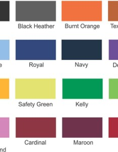 Jerzees color chart also size charts rh wholesaleteeshirtstore