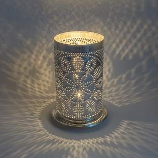 Hex Pattern Candle Shade