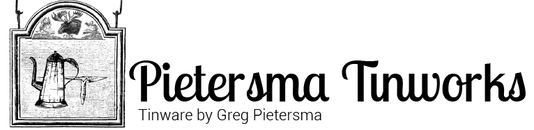 Pietersma Tinworks Wholesale Site