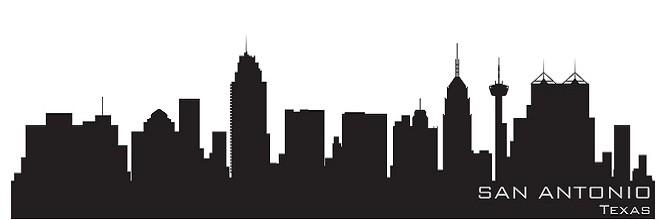 San Antonio, Texas Skyline for RV Visitors