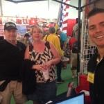 WholesaleWarranties.com Owner Jeff with RV Warranty Clients at 2013 RV Show
