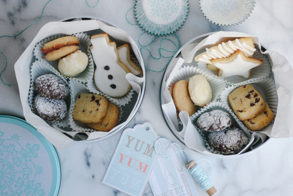 Holiday Cookie Tins | wholesomefamilykitchen.com