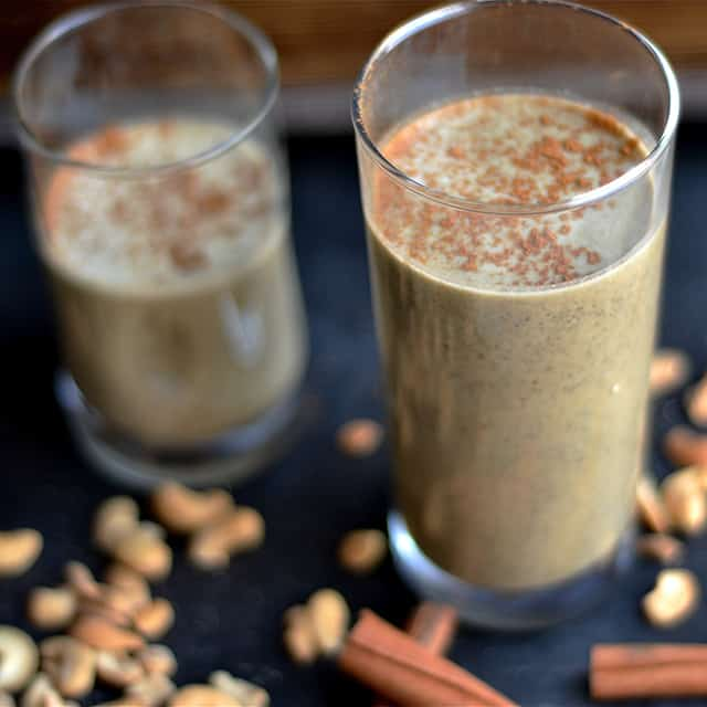 Chai Latte Protein Smoothie 3
