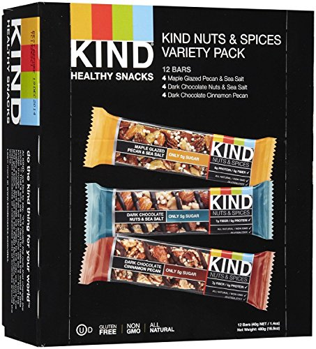 KIND Nuts amp Spices Bars Pack of 12 WholesomeONE
