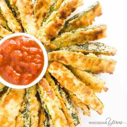 Crispy Gluten-Free Parmesan Zucchini Fries