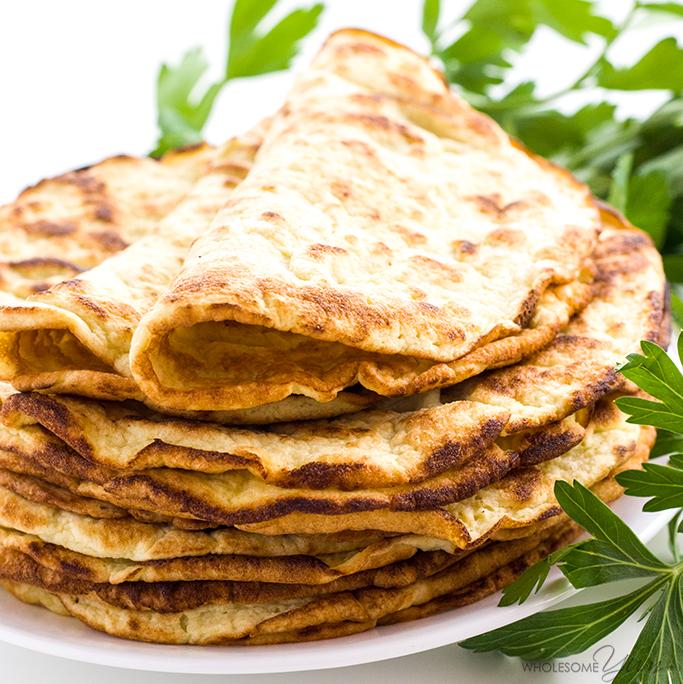Coconut Flour Tortillas recipe