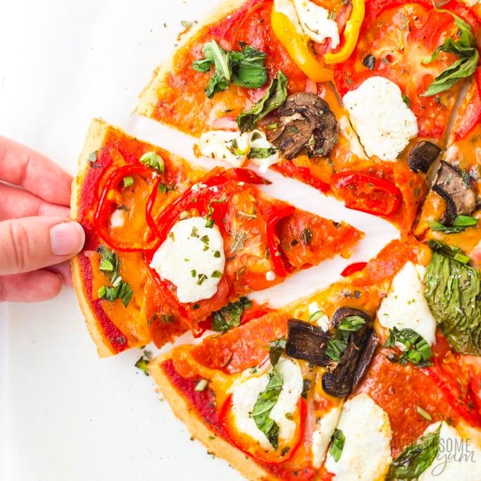 Almond Flour Protein Pizza