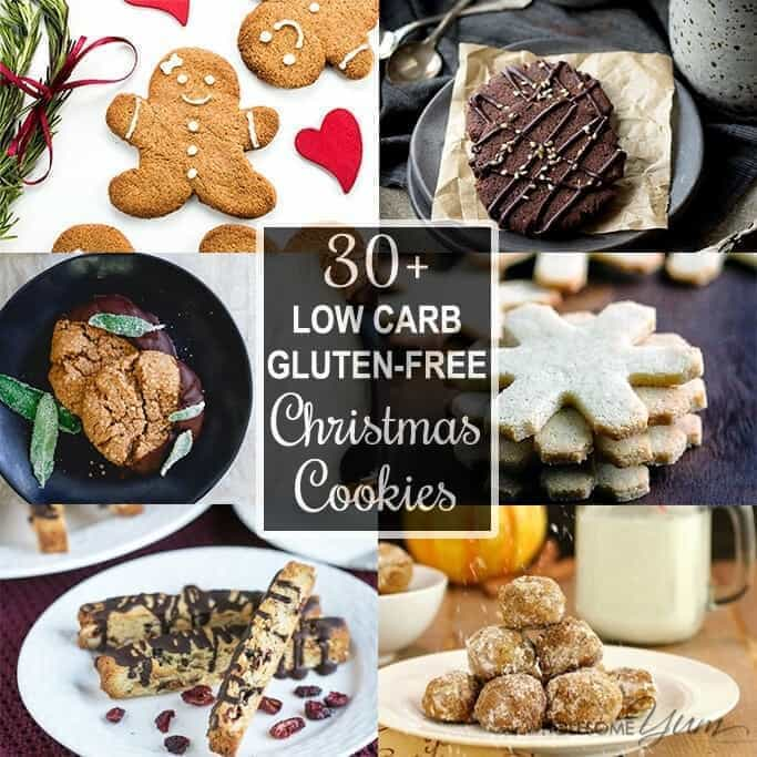 30 Low Carb Sugar Free Christmas Cookies Recipes Roundup