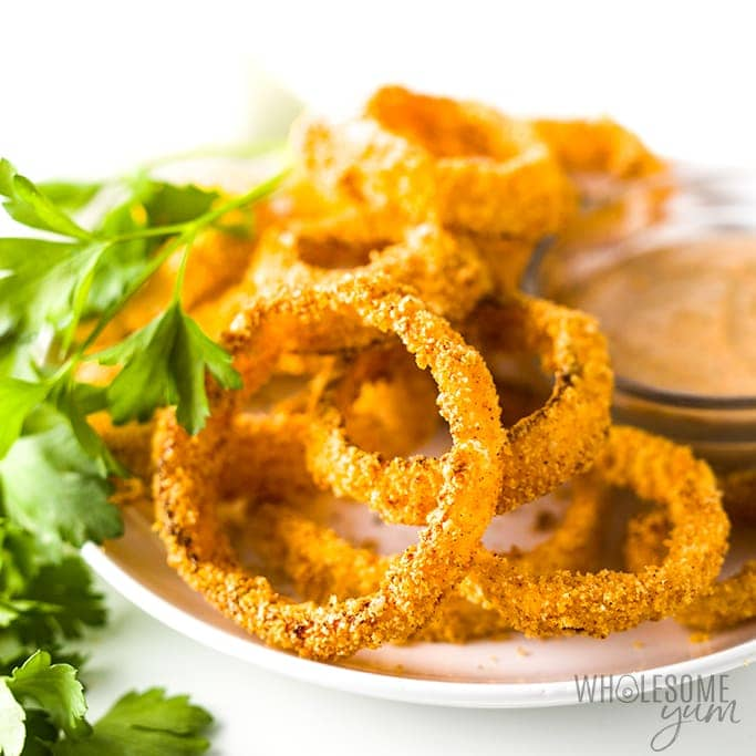 Keto Onion Rings Recipe