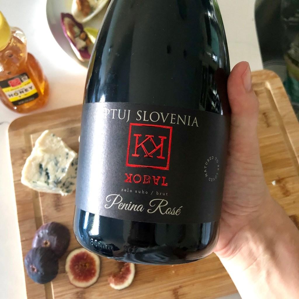 Sparkling rose from Slovenia