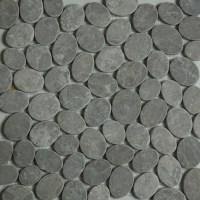 Light Grey Sliced | Pebble Mosaic