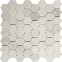 Hexagon Mosaic | Asian Carrara