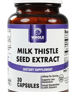 Whole Vitality Milk Thistle Seed Extract – 250×422