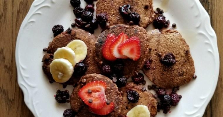 Dessert-for-Breakfast Chocolate Pancakes
