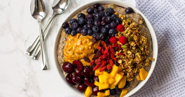 Loaded Chia Seed Pudding Bowl