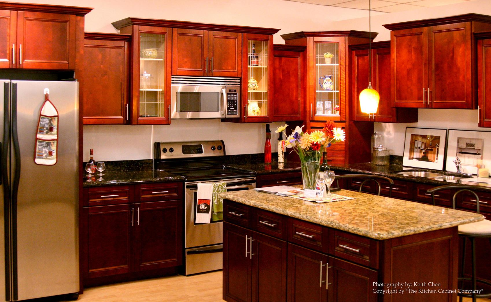 kitchen cabinets cost moen faucet parts cherry to